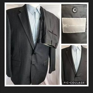 Hickey Freeman Madison 44L Pants Size 40X29 Suit
